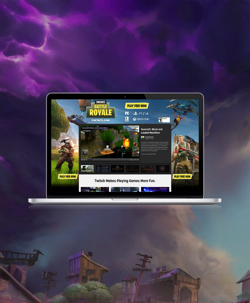 Fortnite & Fortnite Battle Royale Global Digital Launch Campaign